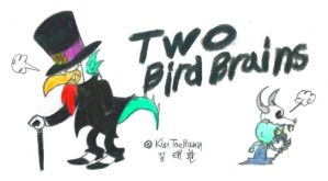 Two Bird Brains by komi114