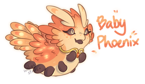 Spring Pacadvent- Baby Phoenix [CLOSED] by wolvesstrife