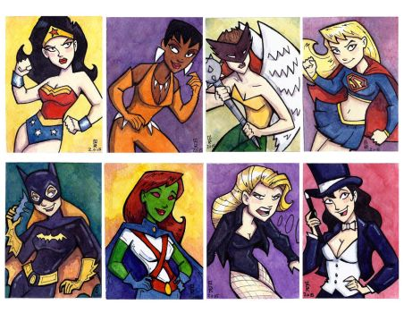 DC Ladies by CorinneRoberts