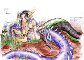 Naga couples I: Wake up Lil by Qvi
