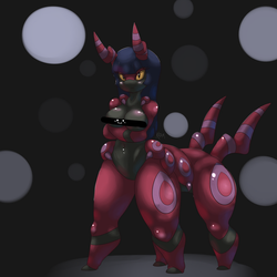 Scolipede Girl - Naoki by DatBritishMexican