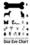 Dog Eye Chart by estjohn