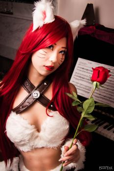 Kitty Cat Katarina Cosplay (League of Legends) by QTxPie