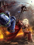 LORGAR SMASH! by Bra1nEater