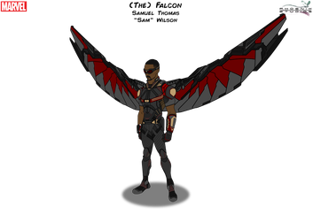 (The) Falcon [With Wings] by Kyle-A-McDonald