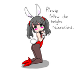 red bunny chan by sesamecake
