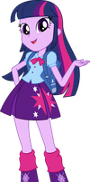 Equestria Girls Twilight Sparkle Vector by icantunloveyou
