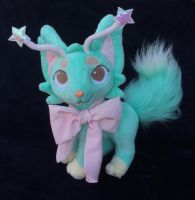 Custom plush Fantasy cat by angelberries