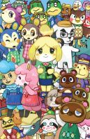 Animal Crossing: New Leaf by neneno