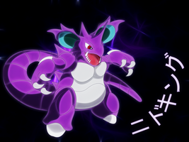 poison king,nidoking