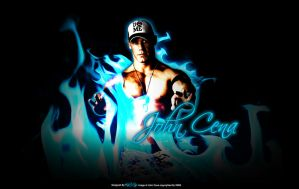 John Cena Wallpaper by KINGGFX1