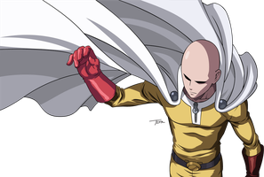 Saitama One Punch Man by truss31