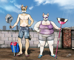 The best cleaning service by TheStrangeThing