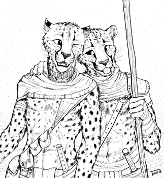 Cheet Bros by TitusWeiss