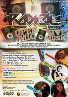 Radical Lounge Flyer Sept. 2011 by JDAdesigns