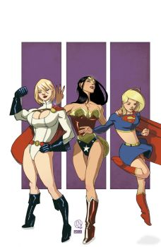 DC Girls by theadriannelson by VPizarro626