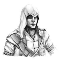 Connor Kenway by InvaderLi