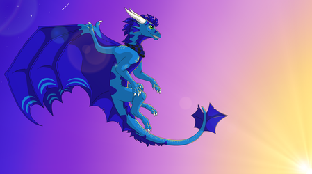 Furia The dragon by IVISEK
