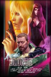 Atomic Blonde by ArtofTu