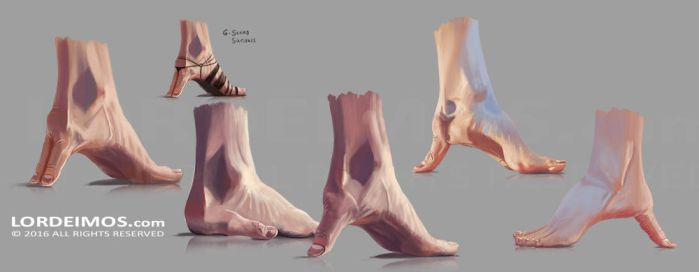 ThumbFeet by LorDeimos