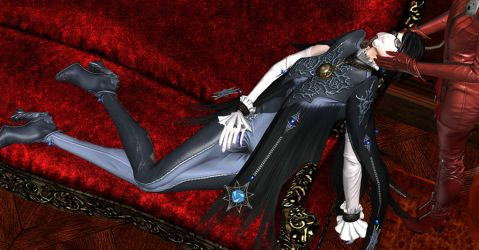 Bayonetta Gassed Out - 2 by BungleBing