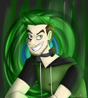 Antisepticeye #AntiArtContest by ErrorMCFalcon