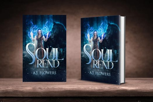 Soul Rend Book Cover Design by Miblart