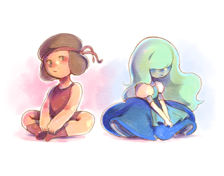 ruby and sapphire by kangdanista