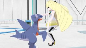 Headcanon AU - Lusamine and Gabite