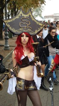Miss Fortune - League of legends - LCG 2013 by Mylittlehedgehog