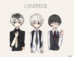 Centipede by iinco