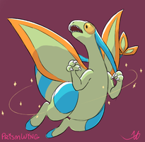 Flygon by PrismWing