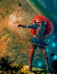 Badass Merida by LouizBrito