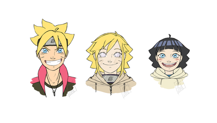 Naruto-The Uzumaki Kids by HinataElyonToph