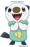 Oshawott by greenflynn
