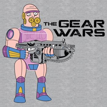 The Gear Wars by ianjasonnorris