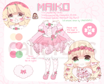 [NEW!] Heartpuff Cutie, Maiko! by candydips