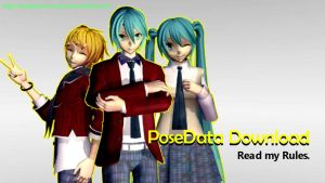 [MMD Download] Benjamin's PoseData Pack#1 by BenjaminRomero