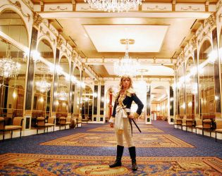 lady oscar -rose of versailles by omae-no-yome