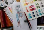 Captain America Study by ArtofLaurieB