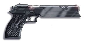 Shadowrun Pistol by Knightwatch