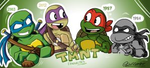 Favourite Turtles by TheEmster97