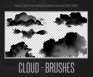 Cloud Brushes | Photoshop by sweetpoisonresources