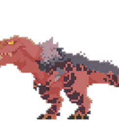 Anjanath [MH] -Animated Pixels- by VoiDdraig