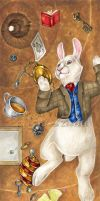 The White Rabbit by VisionCrafter