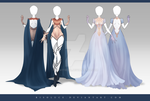 (CLOSED) Adoptable Outfit Auction 177 - 178 by JawitReen