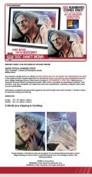DCC 2015 Christopher Lloyd exclusive prints by Shinjuchan