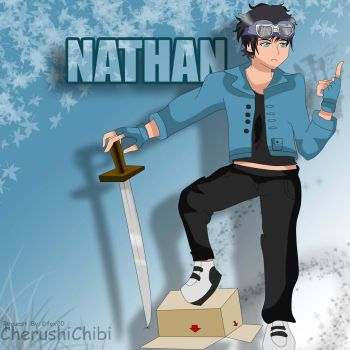 Nathan (request from Dfox20) by CherushiChibi