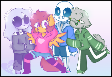 Draw Your Squad (Sans Fangirls) by MickaaaCHy