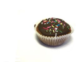 Stock: chocolate cupcake by agonized